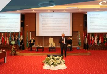 L'intervention de Pr.Farouk Kamoun, Président de notre université, à l'événement organisé par l'ITU & l'ALECSO