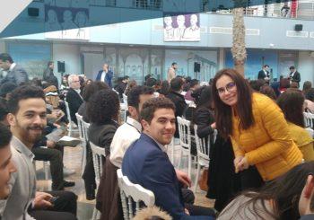 Les étudiants de#SESAME_BUSINESS au salon Riyeda