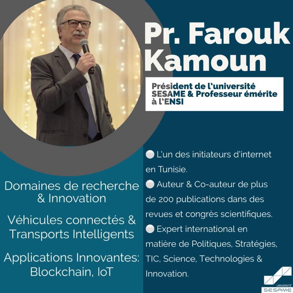 Professeur Farouk Kamoun